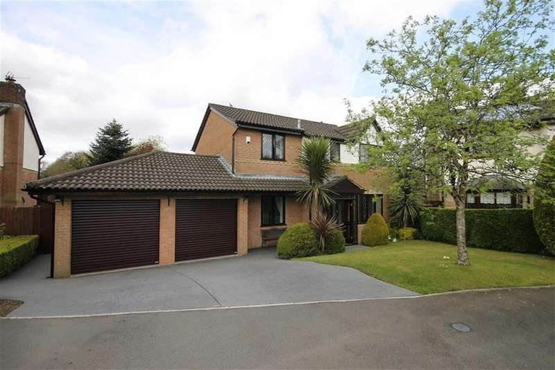 4 Bedrooms Detached House for sale in St James Close, Caerphilly, CF83