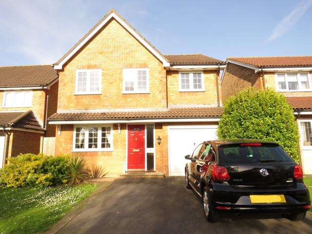 4 Bedrooms Detached House for sale in PEARMAN DRIVE, ANDOVER SP10
