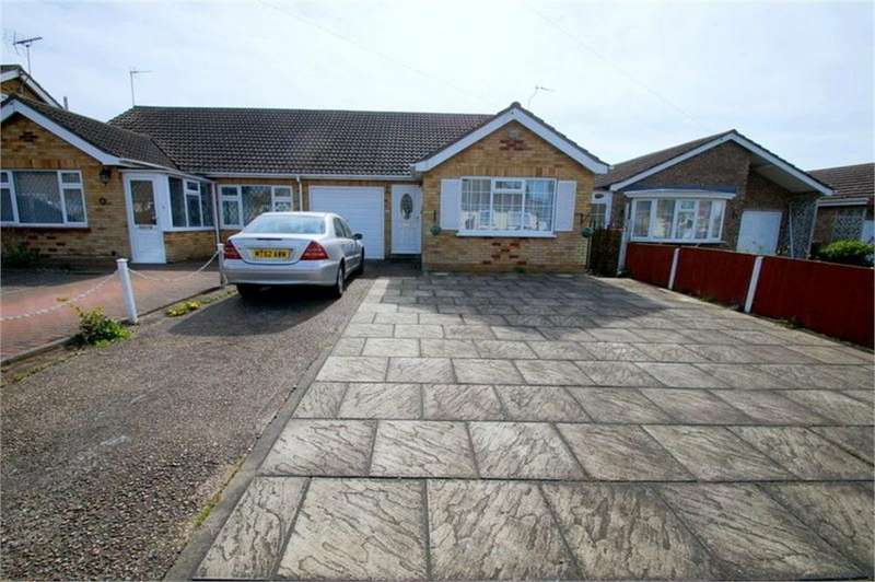 2 Bedrooms Semi Detached Bungalow for sale in Gorse Lane, CLACTON-ON-SEA, Essex