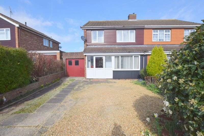 3 Bedrooms Semi Detached House for sale in Roche Gardens, Bletchley, Milton Keynes.