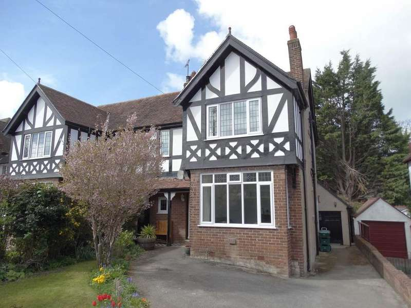 3 Bedrooms Semi Detached House for sale in 8 Elian Road, Old Colwyn, LL29 8AD