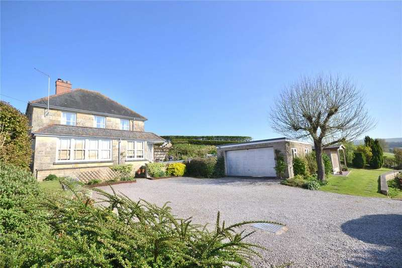4 Bedrooms Detached House for sale in Donhead St Andrew, Shaftesbury, Dorset, SP7