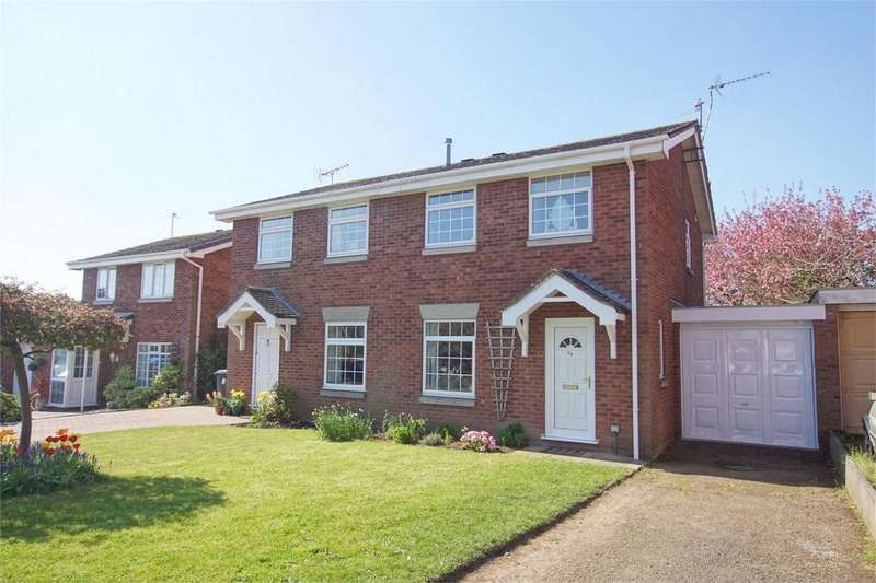 3 Bedrooms Semi Detached House for sale in Drayton Court, Woodloes Park, Warwick