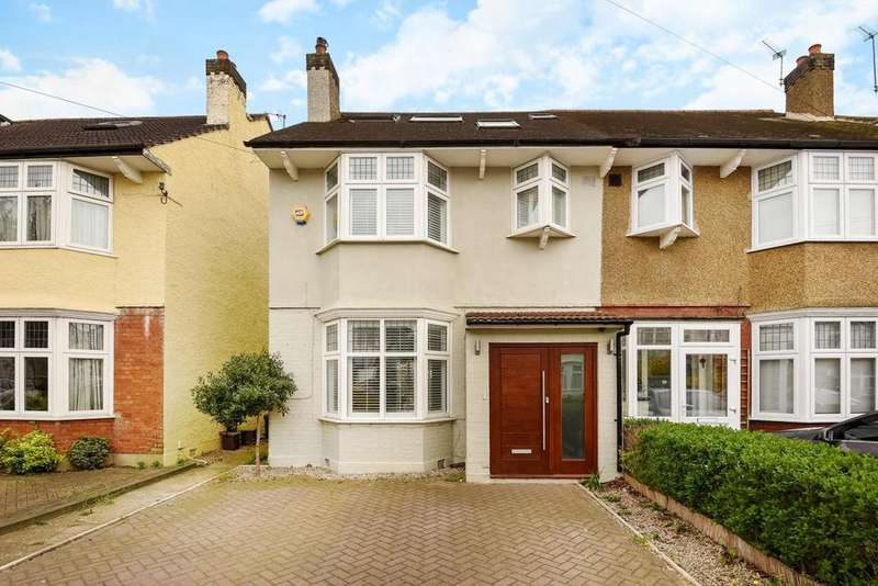 5 Bedrooms Semi Detached House for sale in Camberley Avenue, West Wimbledon, SW20