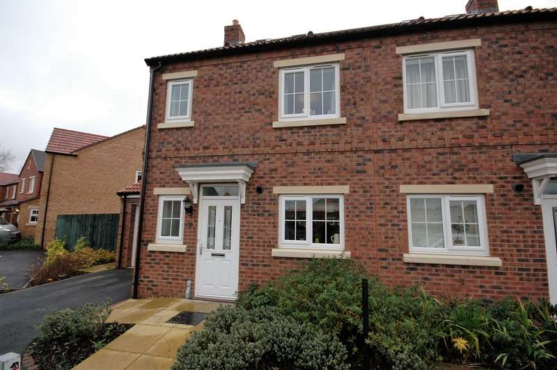3 Bedrooms Semi Detached House for sale in Farm View, Malton, North Yorkshire, YO17