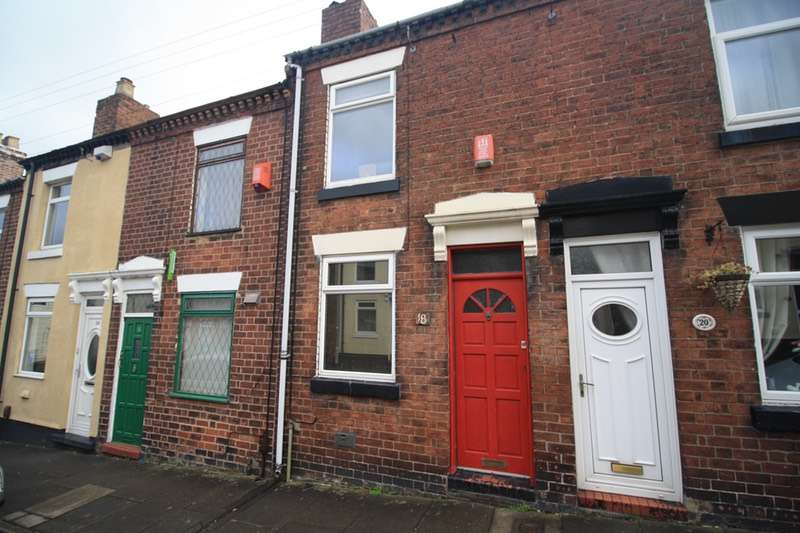 2 Bedrooms Terraced House for sale in Derry Street, Stoke-on-Trent, Staffordshire, ST4