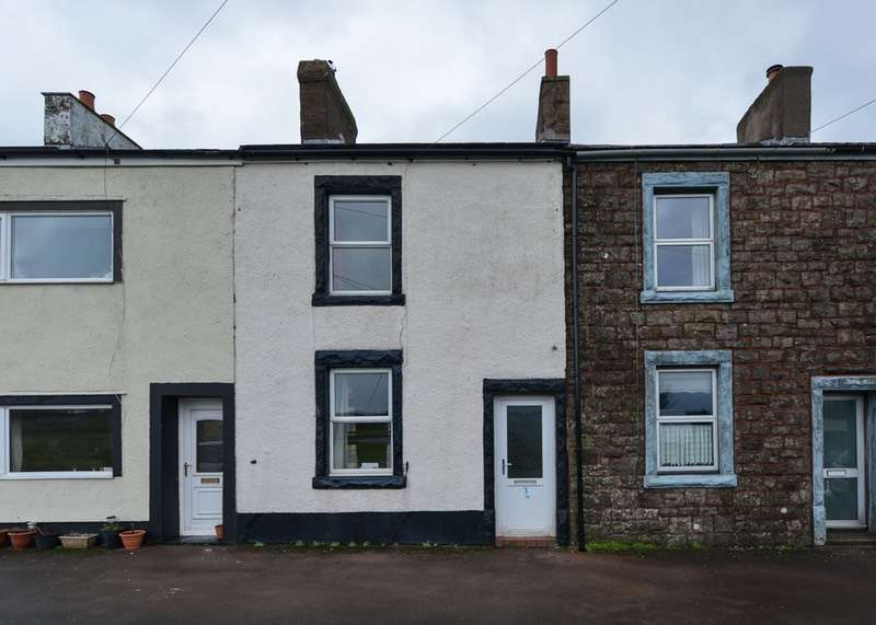 2 Bedrooms Terraced House for sale in Pica Cottages, Pica, Workington, Cumbria, CA14
