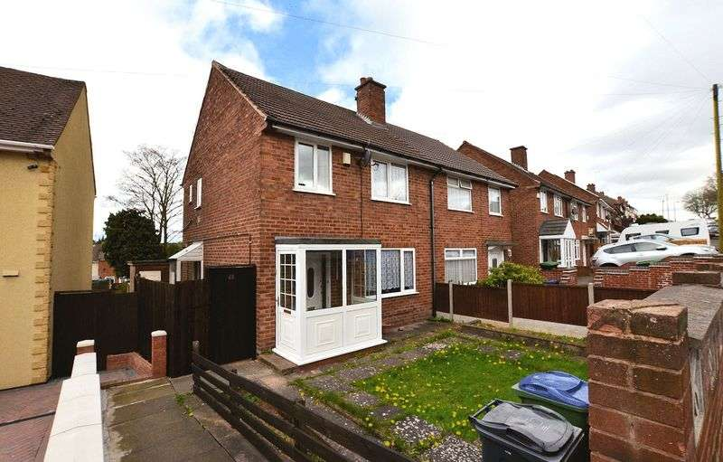 3 Bedrooms Semi Detached House for sale in Brennand Road, Oldbury