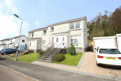 2 Bedrooms Flat for sale in Lochiel Drive, Milton of Campsie, Glasgow, East Dunbartonshire