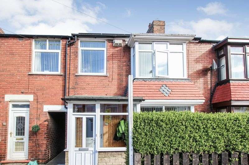 4 Bedrooms Terraced House for sale in Marina Avenue, Redcar