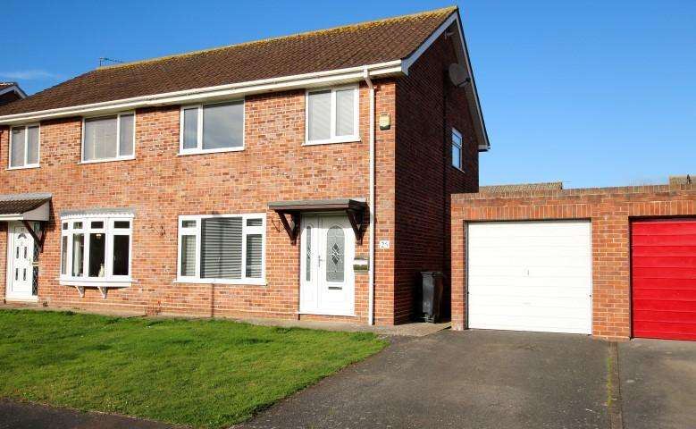 3 Bedrooms Semi Detached House for sale in Pyrland Walk, Bridgwater TA6