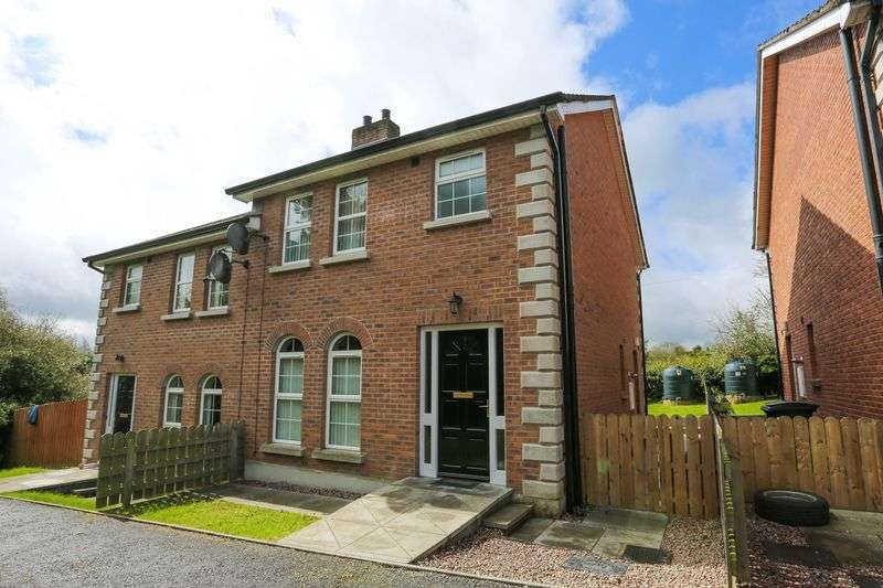 3 Bedrooms Semi Detached House for sale in 25 Green Park Drive, Markethill
