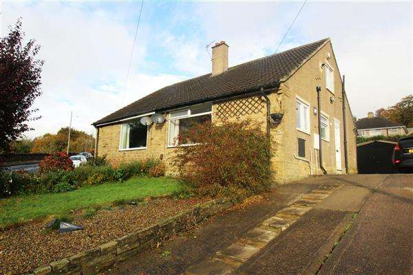 2 Bedrooms Semi Detached Bungalow for sale in Long Lane, Wheatley, Halifax