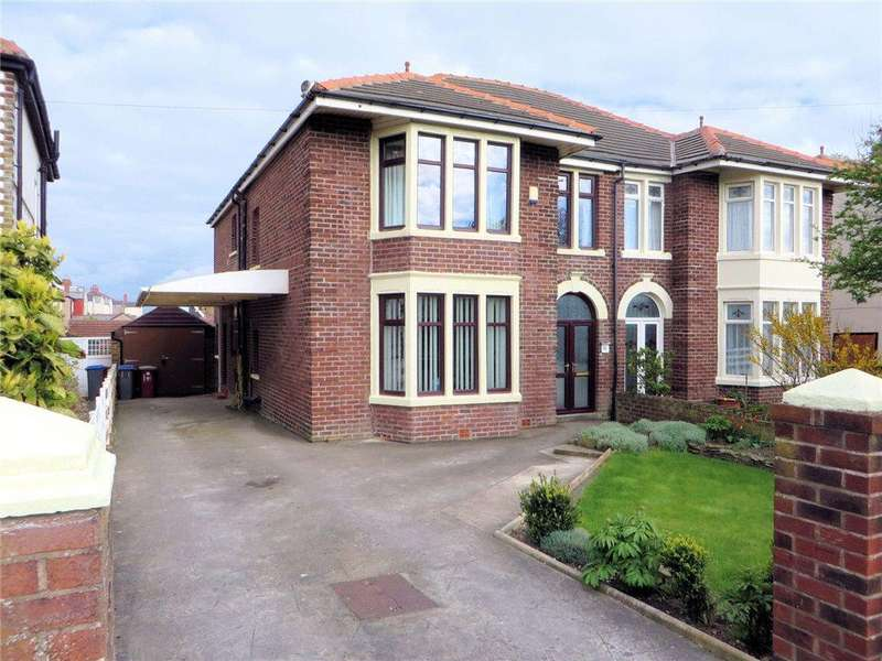 4 Bedrooms Semi Detached House for sale in Norbreck Road, Norbreck, Thornton-Cleveleys