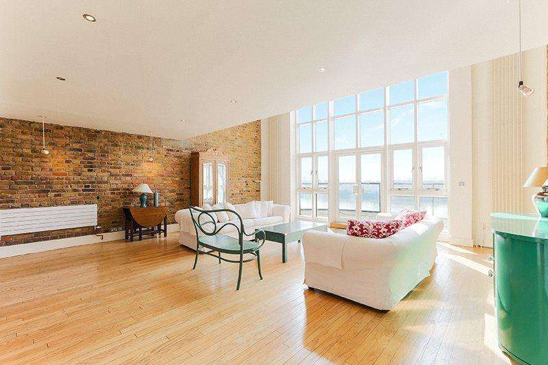 3 Bedrooms Penthouse Flat for sale in Roneo Wharf, 26 Narrow Street, Limehouse, London, E14