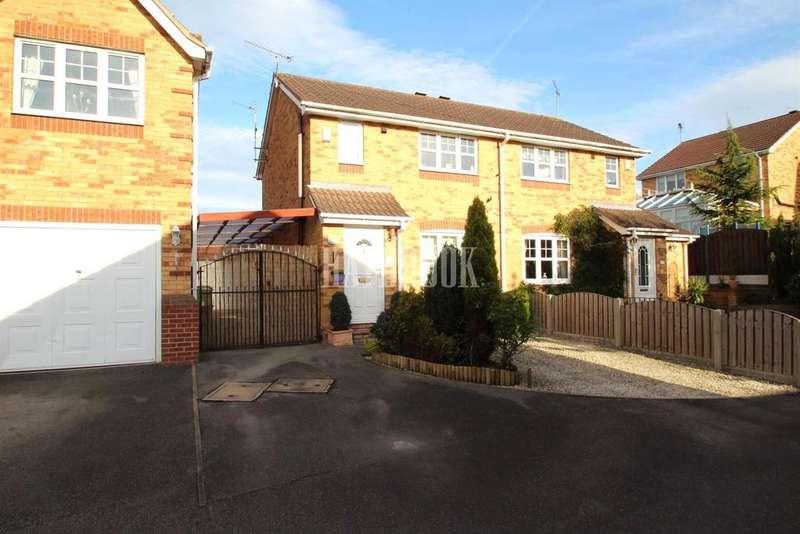3 Bedrooms Semi Detached House for sale in Gaunt Close, Killamarsh