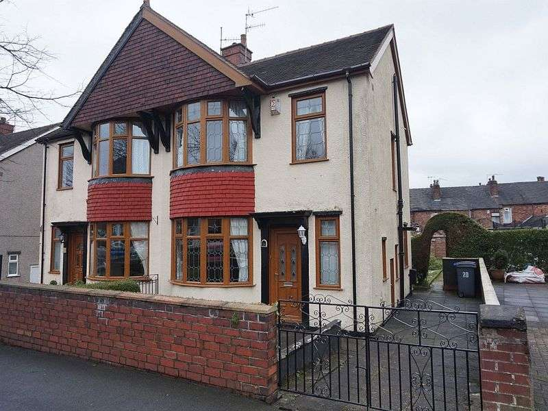3 Bedrooms Semi Detached House for sale in Bank Hall Road, Burslem, Stoke-On-Trent, ST6 7DL