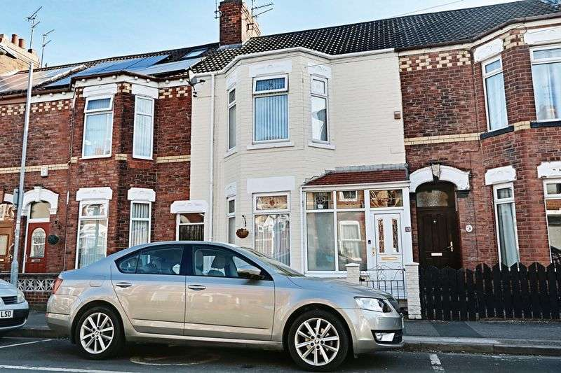 3 Bedrooms Terraced House for sale in Westminster Avenue, Hull