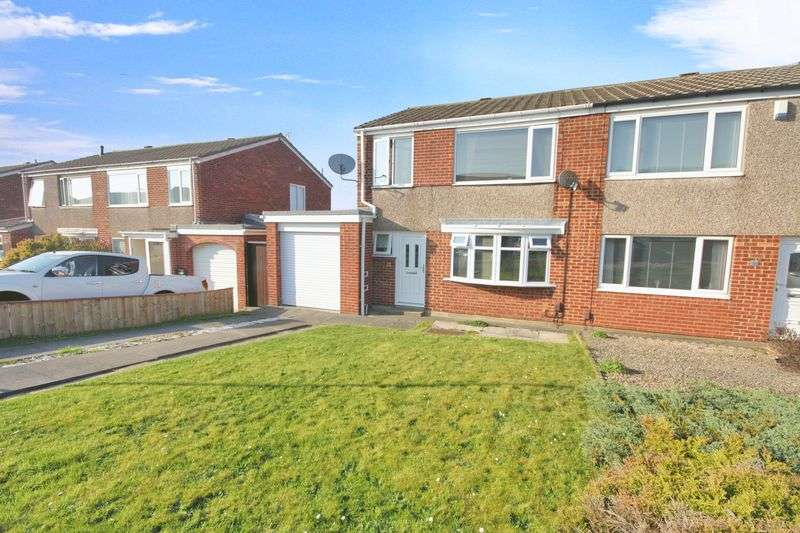 3 Bedrooms Semi Detached House for sale in Loraine Close, Marske-by-the-sea