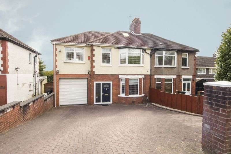 4 Bedrooms Semi Detached House for sale in The Coldra, Newport