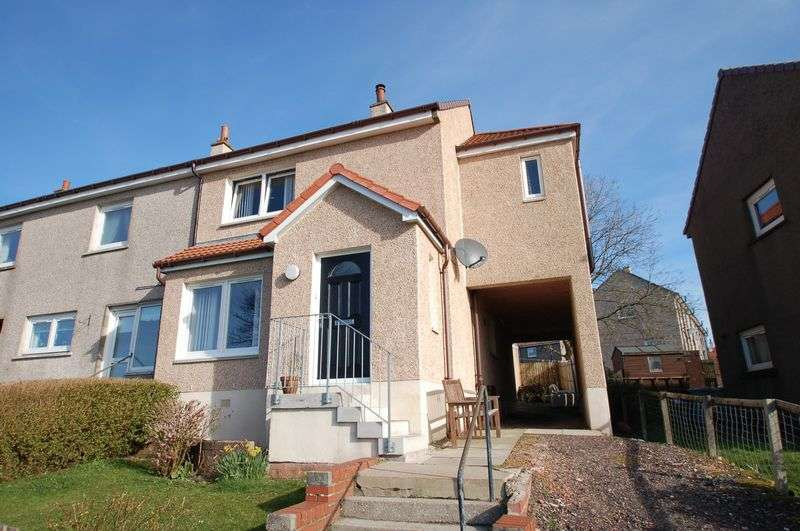 3 Bedrooms Terraced House for sale in Longdales, Forth