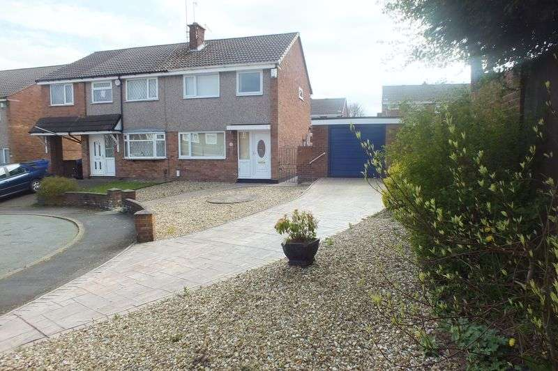 3 Bedrooms Semi Detached House for sale in Brindley Place, Chell Heath, Stoke-On-Trent