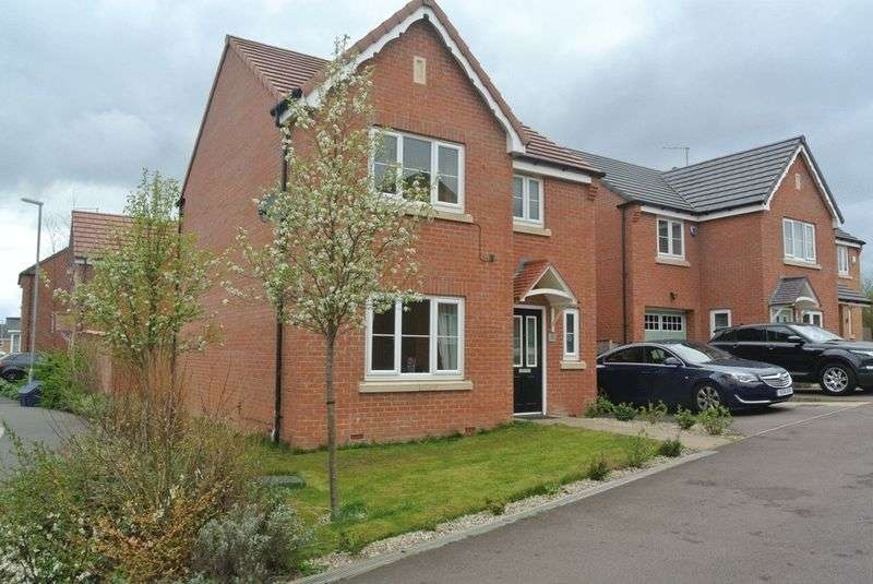 3 Bedrooms Detached House for sale in Windmill Way Huthwaite NG17 2TQ