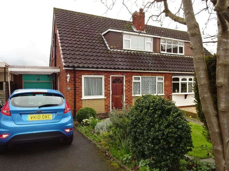 2 Bedrooms Semi Detached House for sale in Rowland Hill Avenue, Kidderminster DY11 6JB