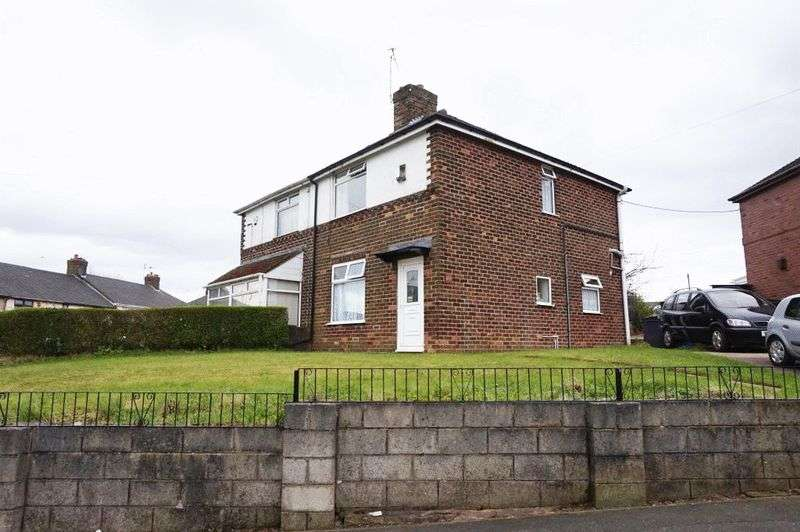 2 Bedrooms Semi Detached House for sale in Colclough Lane, Sandyford, Stoke-On-Trent, ST6 5RL