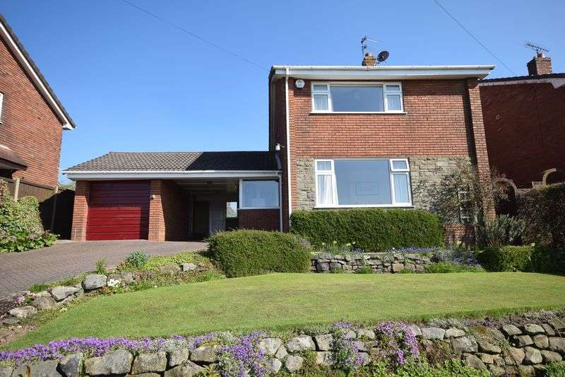 3 Bedrooms Detached House for sale in Rockend Drive, Cheddleton