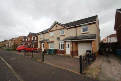 3 Bedrooms Semi Detached House for sale in Turnberry Crescent, Coatbridge, North Lanarkshire