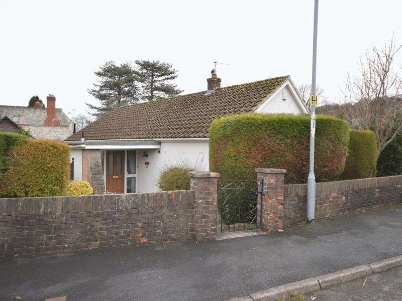 2 Bedrooms Detached Bungalow for sale in Orchard Close, Gilwern, Abergavenny