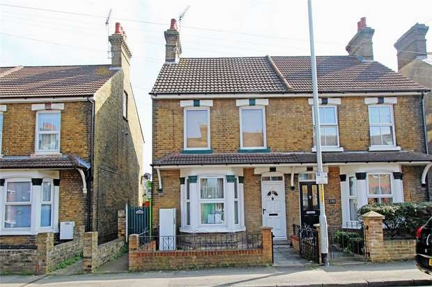 2 Bedrooms Maisonette Flat for sale in Park Road, Sittingbourne, Kent