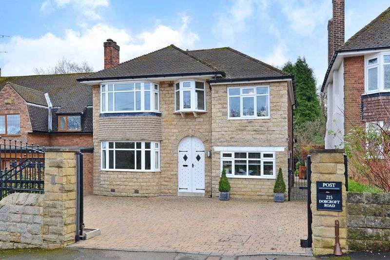 4 Bedrooms Detached House for sale in Dobcroft Road, Sheffield