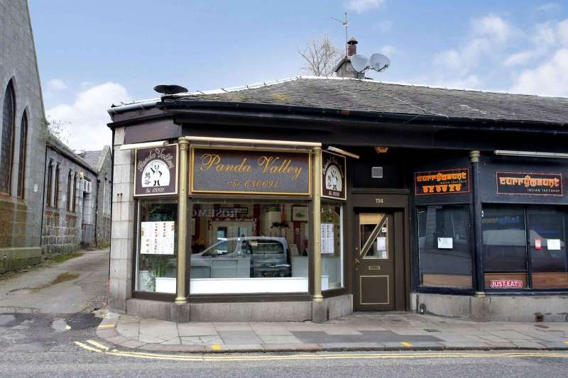 Commercial Property for sale in 114 Rosemount Place, Aberdeen, Aberdeenshire, AB25 2YW