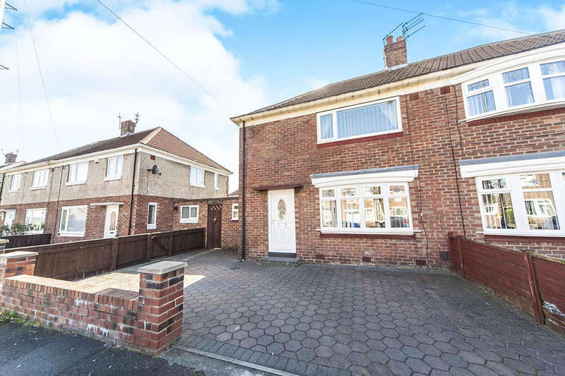 2 Bedrooms Semi Detached House for sale in Rosemary Road, Redhouse, Sunderland, SR5