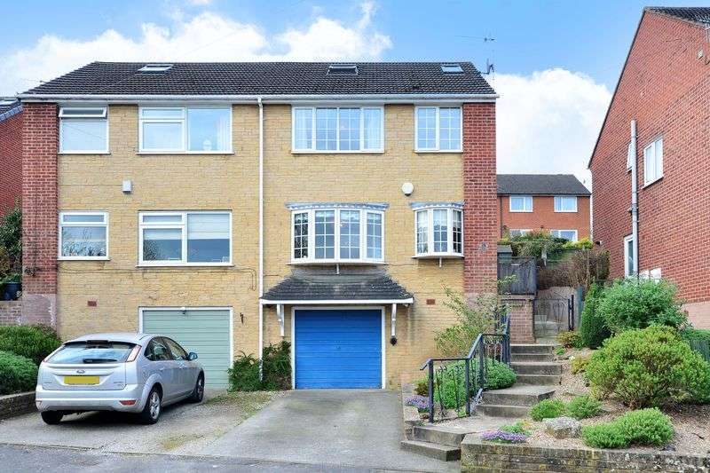 4 Bedrooms Semi Detached House for sale in Burns Drive, Dronfield