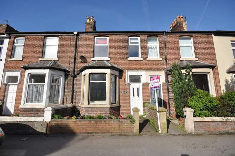 3 Bedrooms Terraced House for sale in Garstang Road North, Wesham, Preston, Lancashire, PR4 3DD