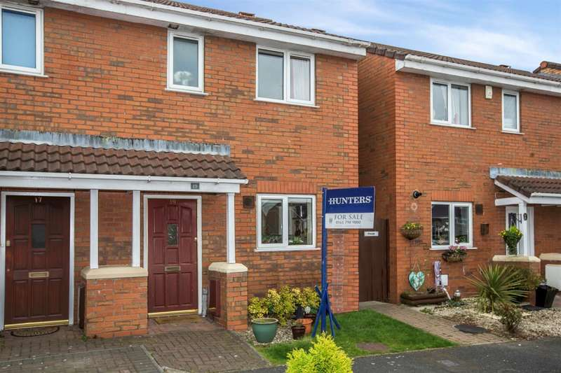 2 Bedrooms Semi Detached House for sale in Ploughfields, Worsley, Manchester, M28 1PL