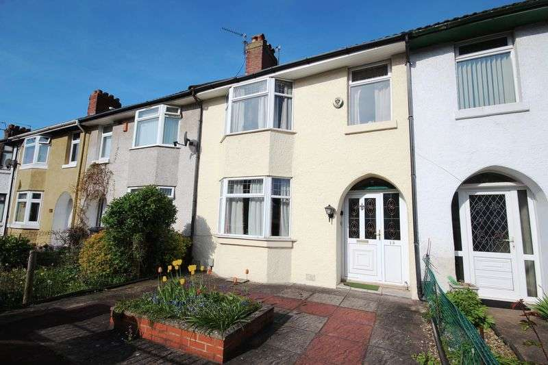 3 Bedrooms Terraced House for sale in Wembley Road, Canton