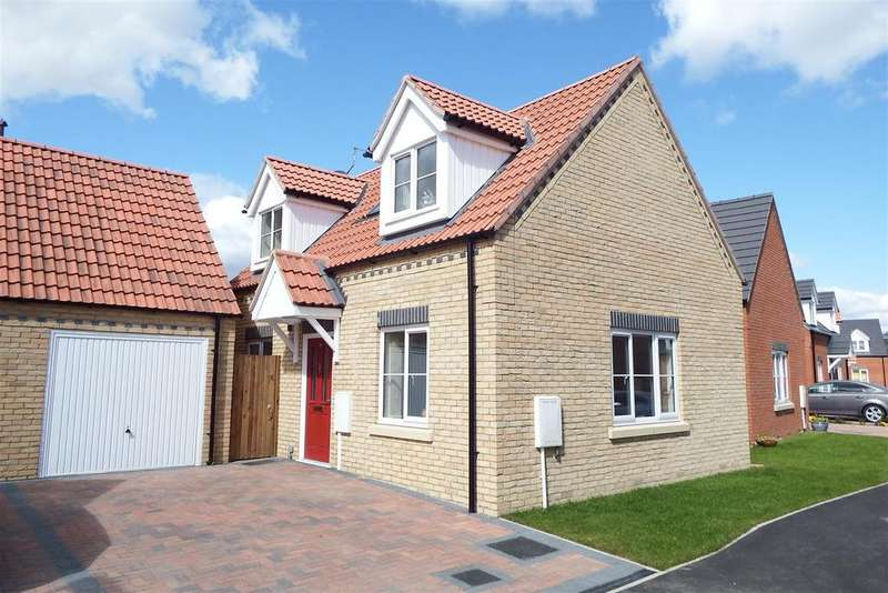 2 Bedrooms Detached House for sale in Belle Vue Close, Holbeach