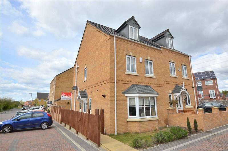 4 Bedrooms Semi Detached House for sale in Park Drive, Lofthouse, Wakefield, West Yorkshire