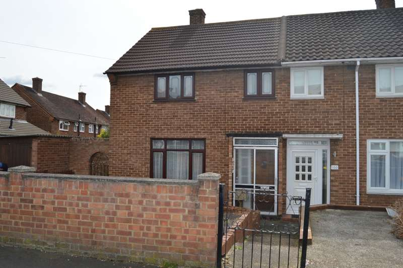 2 Bedrooms End Of Terrace House for sale in Dudley Road, Romford