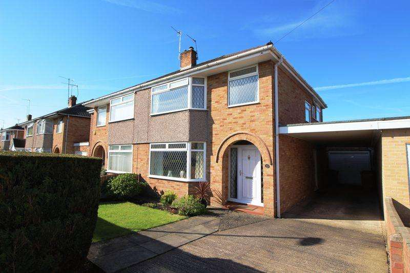3 Bedrooms Semi Detached House for sale in Edgewood Drive, Bromborough