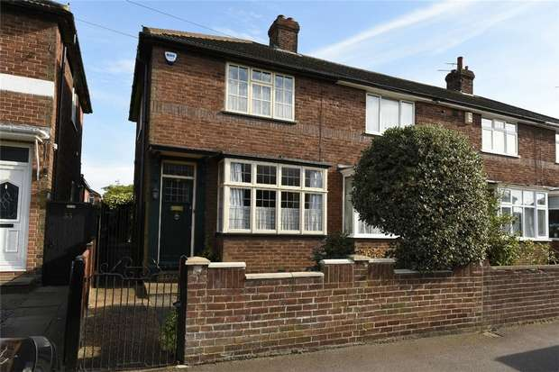 2 Bedrooms End Of Terrace House for sale in Acacia Road, Bedford