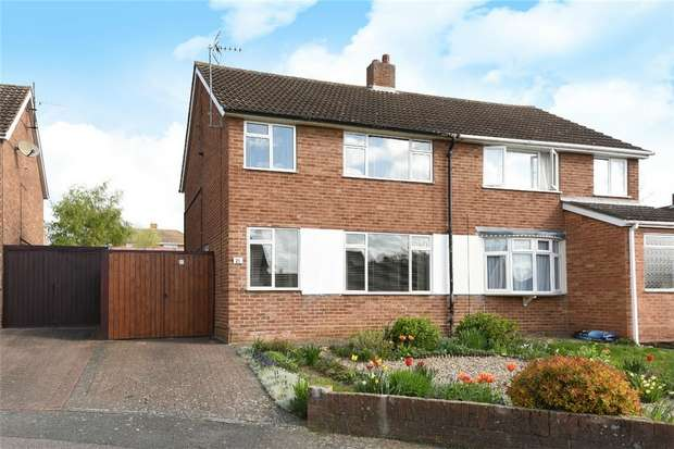 3 Bedrooms Semi Detached House for sale in Martin Close, Bedford