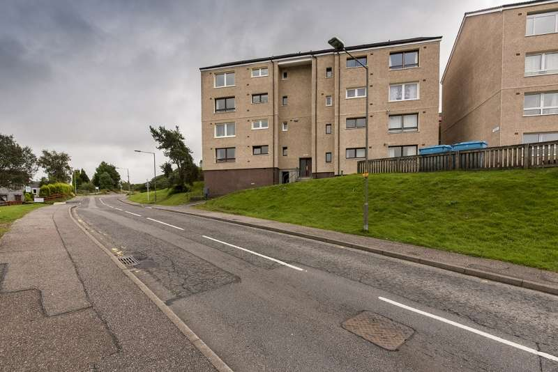 2 Bedrooms Flat for sale in Moray Place, Upper Achintore, Fort William, Highland, PH33 6JY