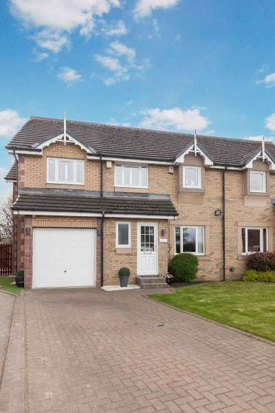 4 Bedrooms Semi Detached House for sale in Ferguson View, Musselburgh, East Lothian, EH21 6XD