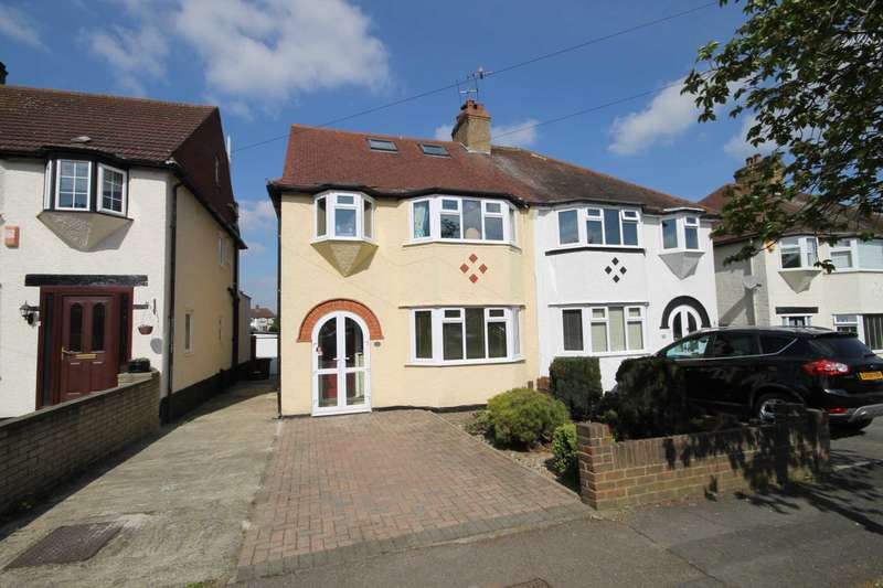 4 Bedrooms Semi Detached House for sale in Gillian Park Road, Sutton