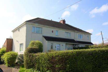 4 Bedrooms Semi Detached House for sale in Hillview Road, Pucklechurch, Near Bristol, South Gloucestershire